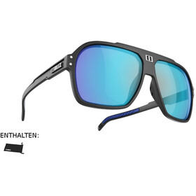 Bliz Targa Gafas, matte black/smoke/blue multi
